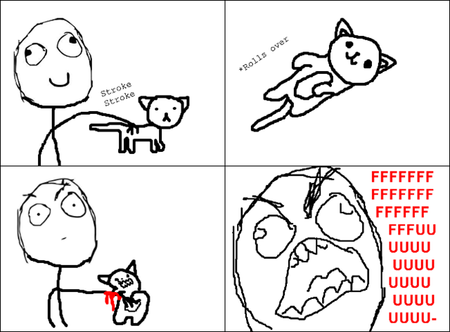 Kitty Petting Rage