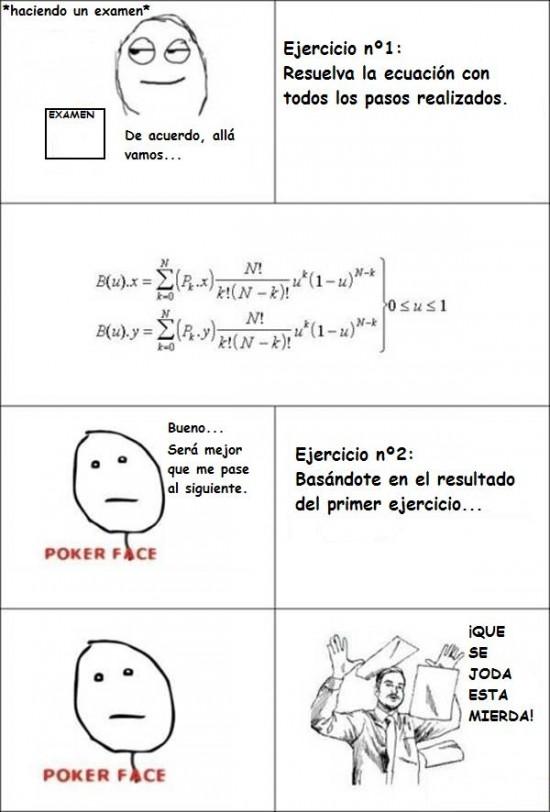 Haciendo el Examen