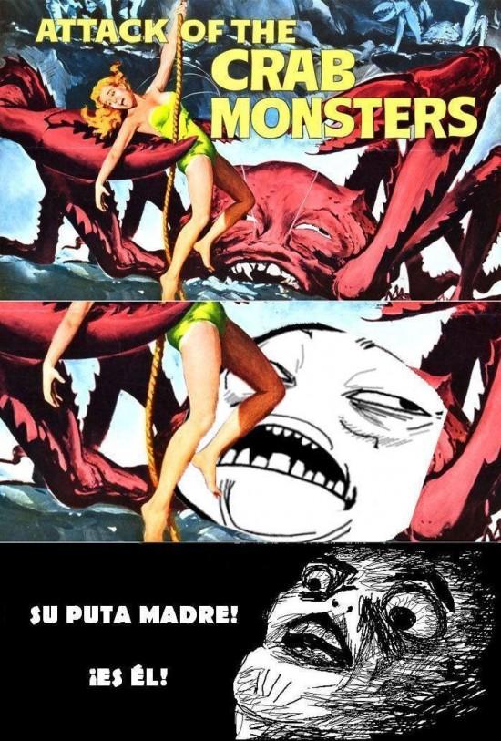 El ataque del cangrejo monstruoso