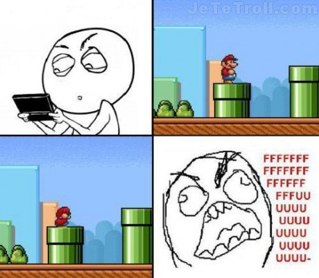 Bref, j'ai joué à Mario !