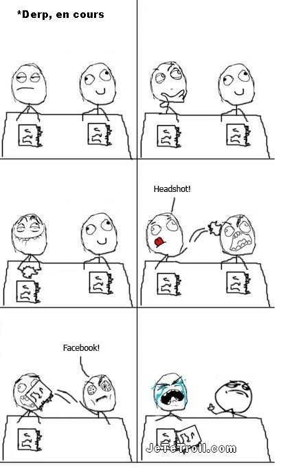 Counter Strike VS Facebook !