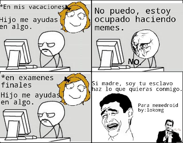 Ayudando A Mama Meme Subido Por Lokomg Memedroid