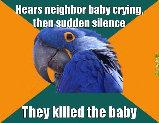 baby's dead!