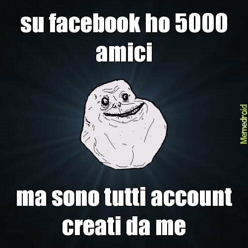 forever alone facebook