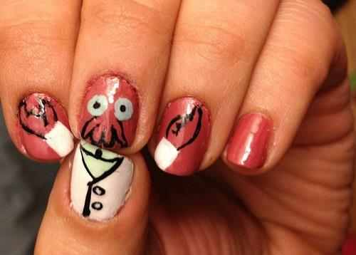 In Need Of Amazing Nail Art Why Not Zoidberg Meme By