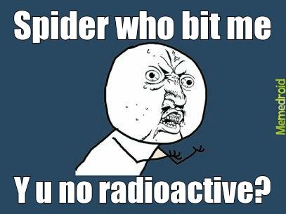 Me spidermansta
