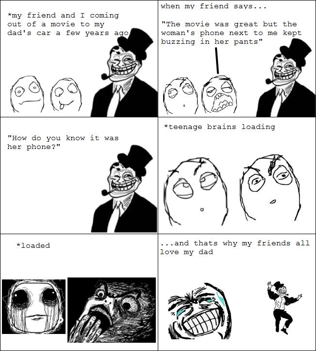 troll dad is troll meme by fallacy memedroid