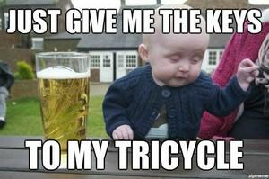 drunken baby