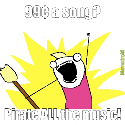 Music is expensive - Meme by Eagle13559 :) Memedroid