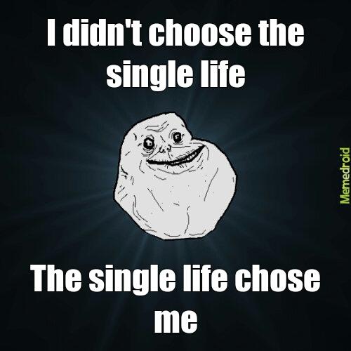 Meme single life Single life