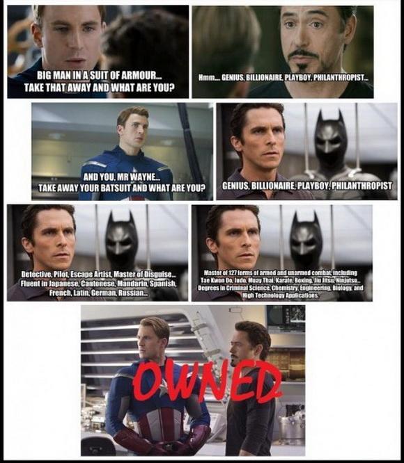 Captain America Got Owned Meme By Sanmyrgti Memedroid