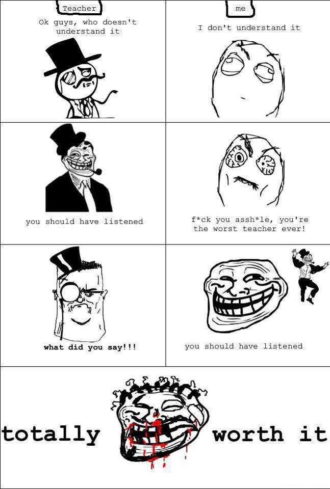 troll teacher trolled