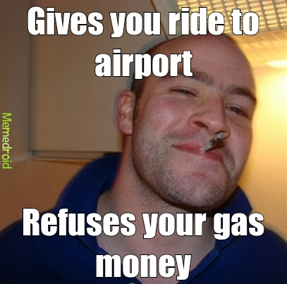 Good Guy Greg takes a drive
