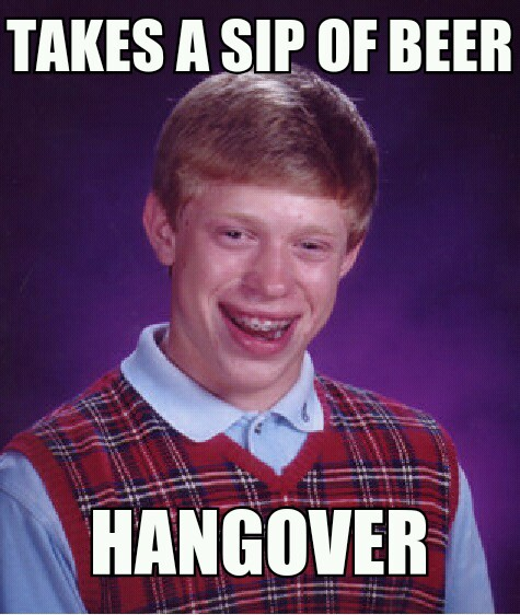 taste of beer hangover - Meme by andrew555 :) Memedroid