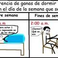 Diferencias de sueño