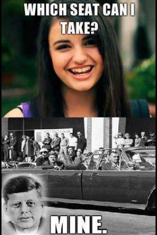 Rebecca black JFK - meme