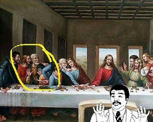 4f7804b9d1c8e we got a badass at the last supper meme by deadsotc ) memedroid
