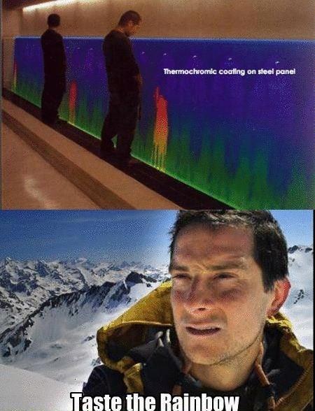 Rainbow - meme