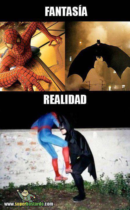Super heroes - meme