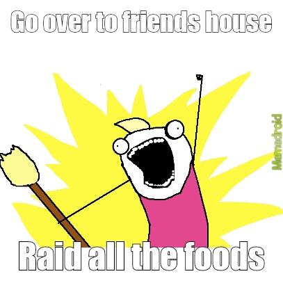 Sharing Food - meme