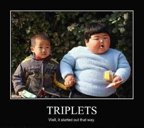 triplets - meme