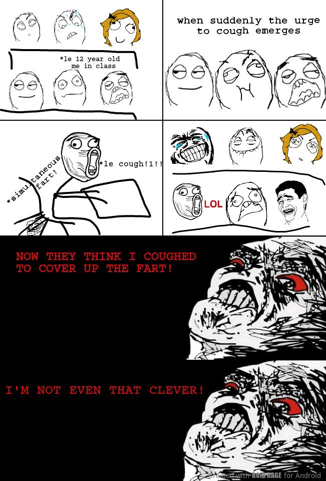In-class awkwardness - meme