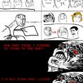 In-class awkwardness