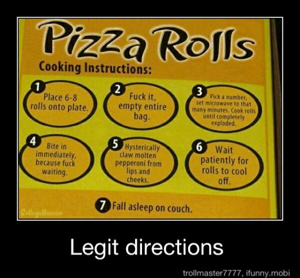 Pizza Rolls Meme By Tyler1998 Memedroid