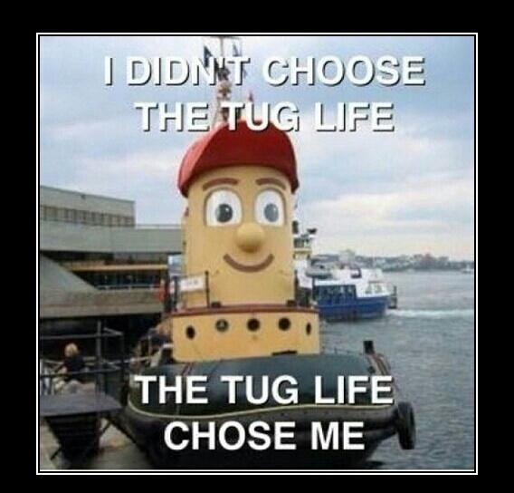 the tug life - meme