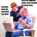 Troll grandpa