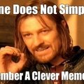 Clever Meme