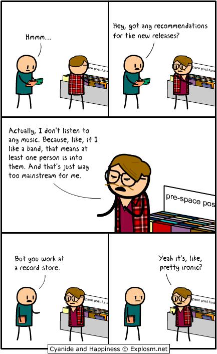 Hipster - meme