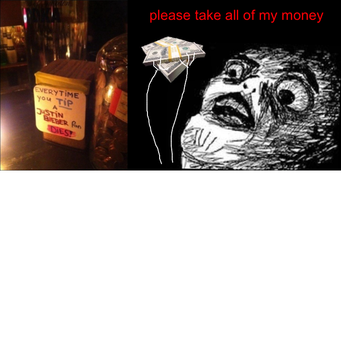 Shut up and take my money! - meme