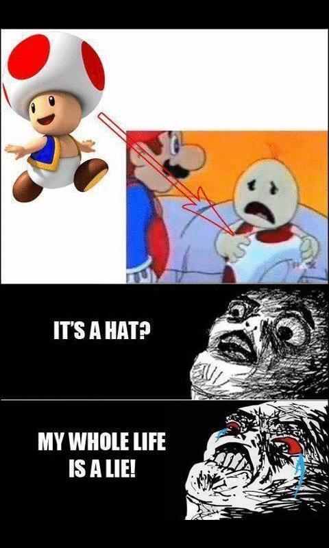 its a hat :O - meme
