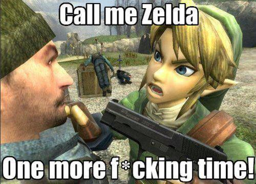 Funny Link Zelda Memes : Link pulls an insanity wolf meme by deep fried butter memedroid