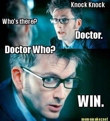 10th doctor - meme