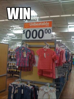 Wall-Mart logic - meme