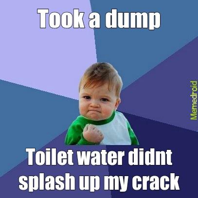 toilet water - meme