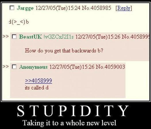 Congratulations you're now in level: retarded - meme