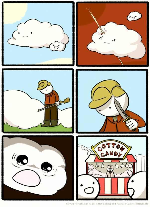 cotton candy - meme