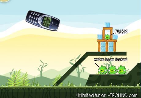 Angry Nokia 3310 - meme