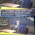 Persona 3 hates twilight too! D: