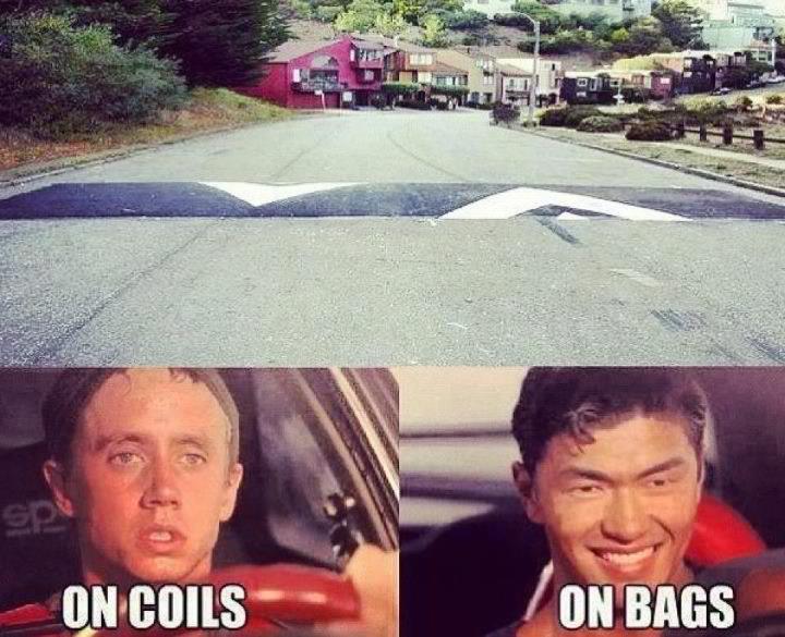 I hate having a low car! - meme