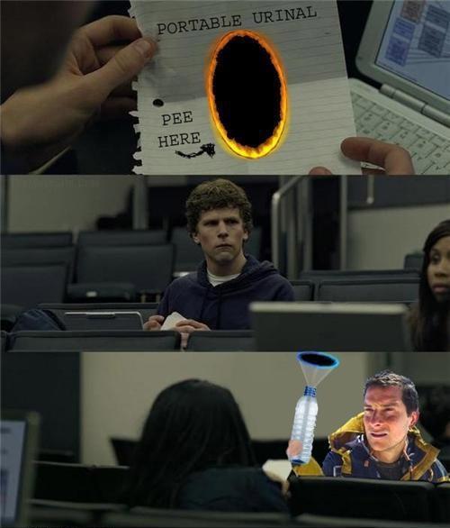 bear portal grylls - meme