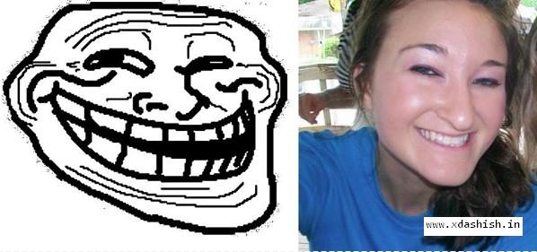 Troll's girlfriend. - meme