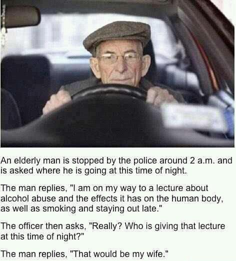 clever old man - meme