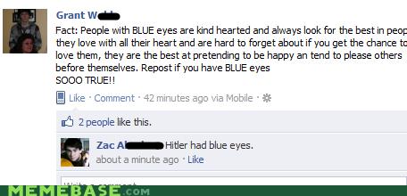 facebook trolls <3 - meme