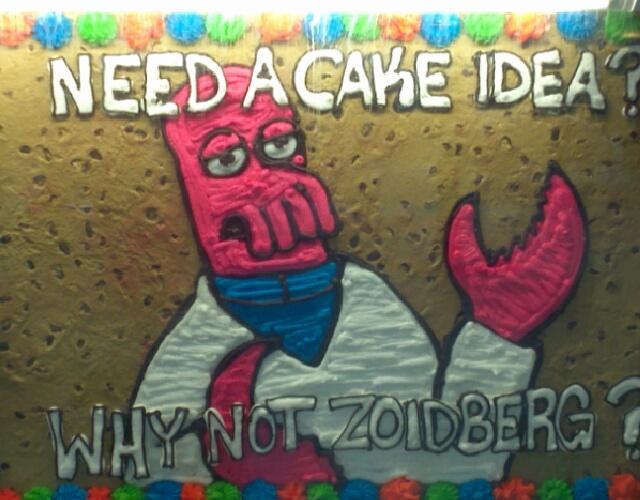 Zoidberg Cake - meme