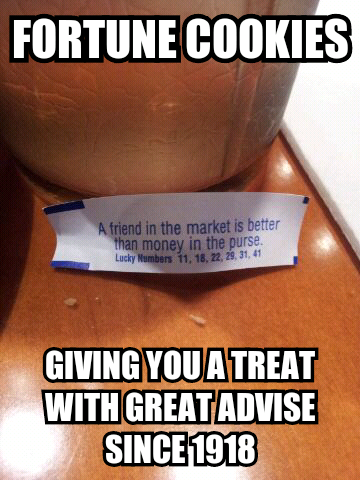 Fortune Cookies - meme