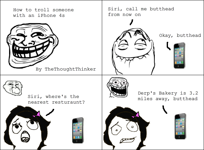 troll iphone people! - meme